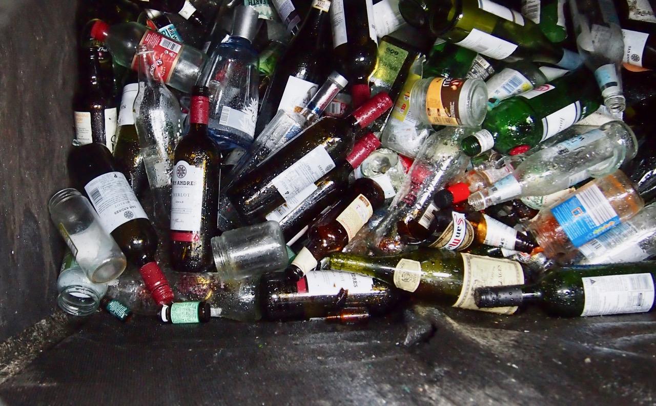 Entry 11: The Bottle Bank – Shattered nerves * Shattered lives *